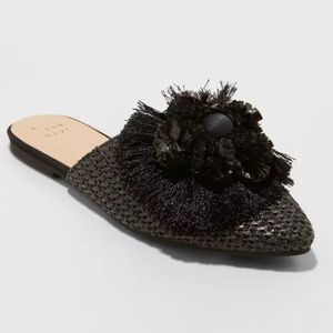 """A New Day Backless """"Emma"""" Mules"""